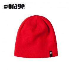 Bonnet de ski ORAGE Beanie Rouge Unisexe