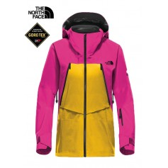 Veste de ski North Face Steep Triclimate rose/jaune Femmes