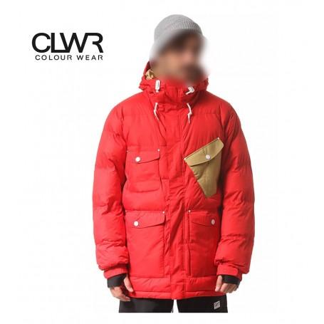 Doudoune Color Wear Puff Jkt rouge Homme