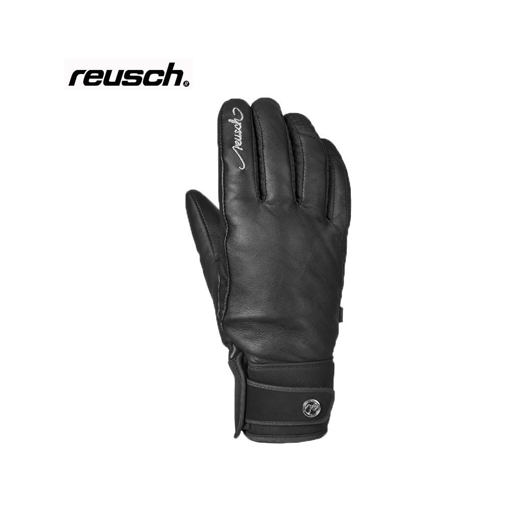 Gant de ski Reusch Thais noir femme