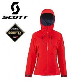 Veste de ski Gore-tex SCOTT Quorra rouge Femmes