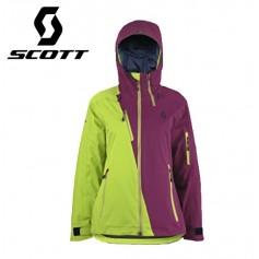 Veste de ski SCOTT Ultimate Dryo Plus Violet Magenta / Vert anis Femmes