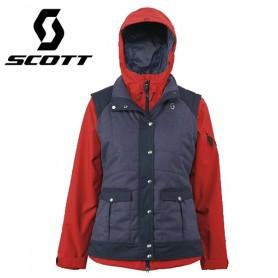 Veste de ski SCOTT Gossamer rouge Femme