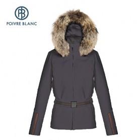 Blouson de ski POIVRE BLANC WO/B Ski Jacket Gris foncé Femme