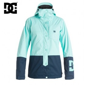 Manteau de ski DC Shoes Defy Jkt  marine/vert d'eau femme