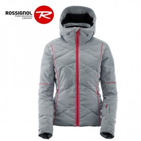 Blouson de ski ROSSIGNOL Stormy Oxford Grise Femme