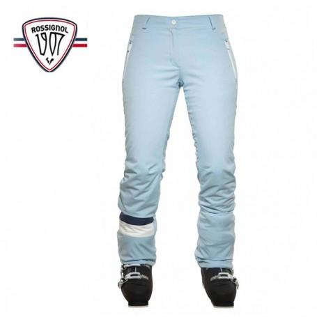 Pantalon de ski ROSSIGNOL Anna Bleu ciel Femmes