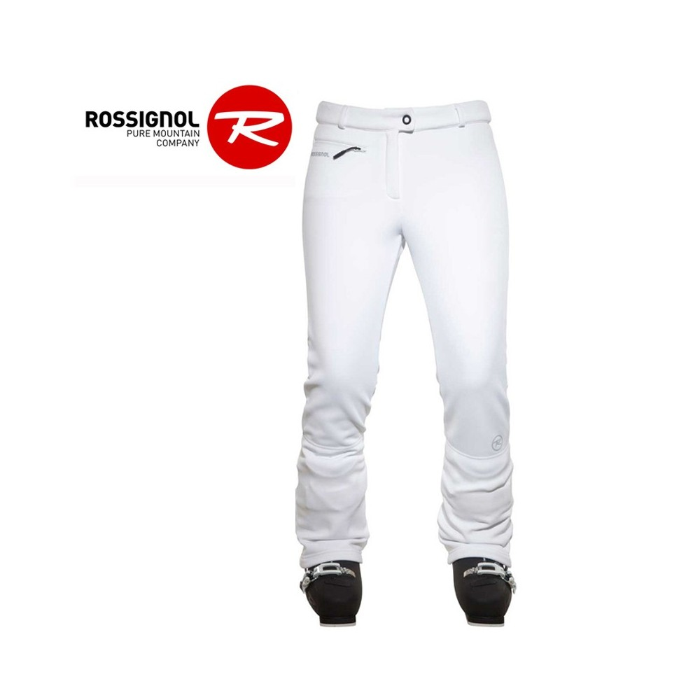 Pantalon de ski Softshell ROSSIGNOL Glee Blanc Femmes
