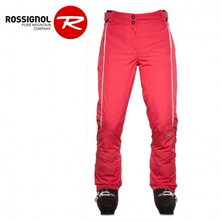 Pantalon de ski ROSSIGNOL Sunrise Heather framboise Femme