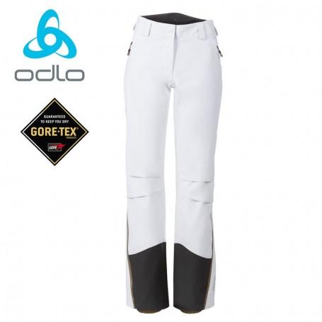 Pantalon randonnée Odlo Spirit blanc femme