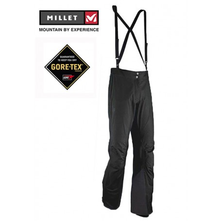 Pantalon de randonnée Millet Cervin noir femme 19a4509fb75d