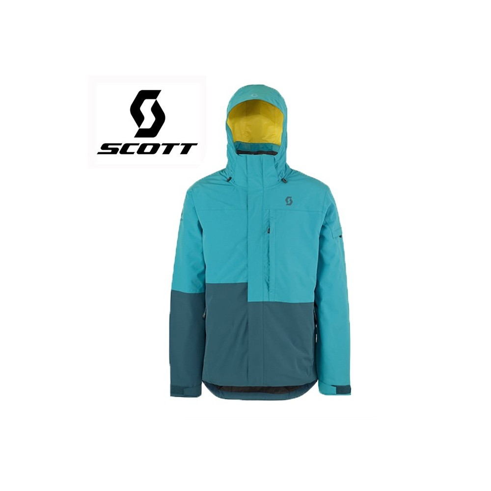 Veste de ski SCOTT Terrain Dryo Bleu 2 tons Hommes