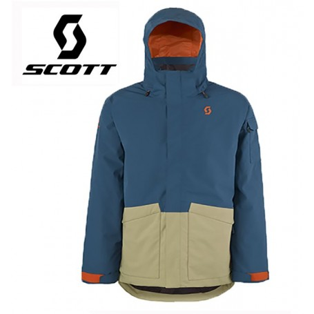 Terrain Homme Veste Bleubeige Ski Dryo De Scott Plus 71Sqt1