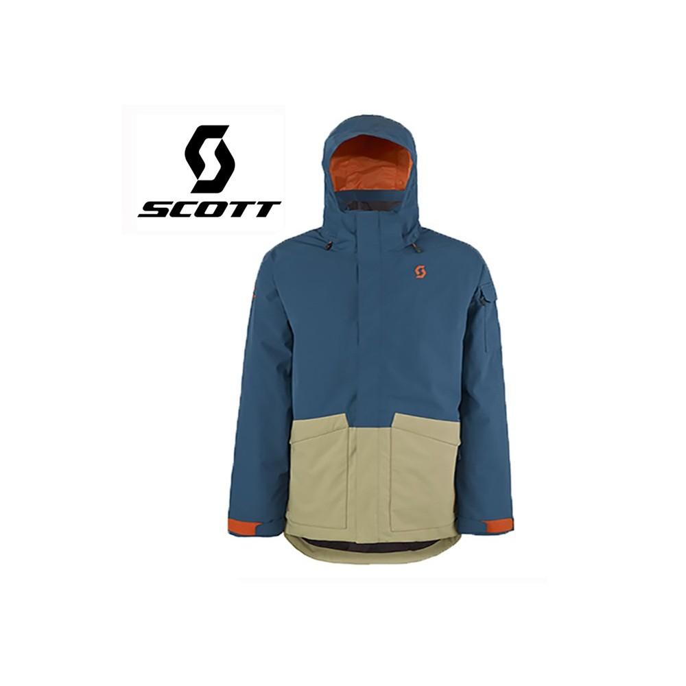 Veste de ski SCOTT Terrain Dryo Plus Bleu / beige Hommes