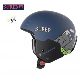 Casque de ski SHRED Basher Noshock Needmoresnow Bleu Unisexe