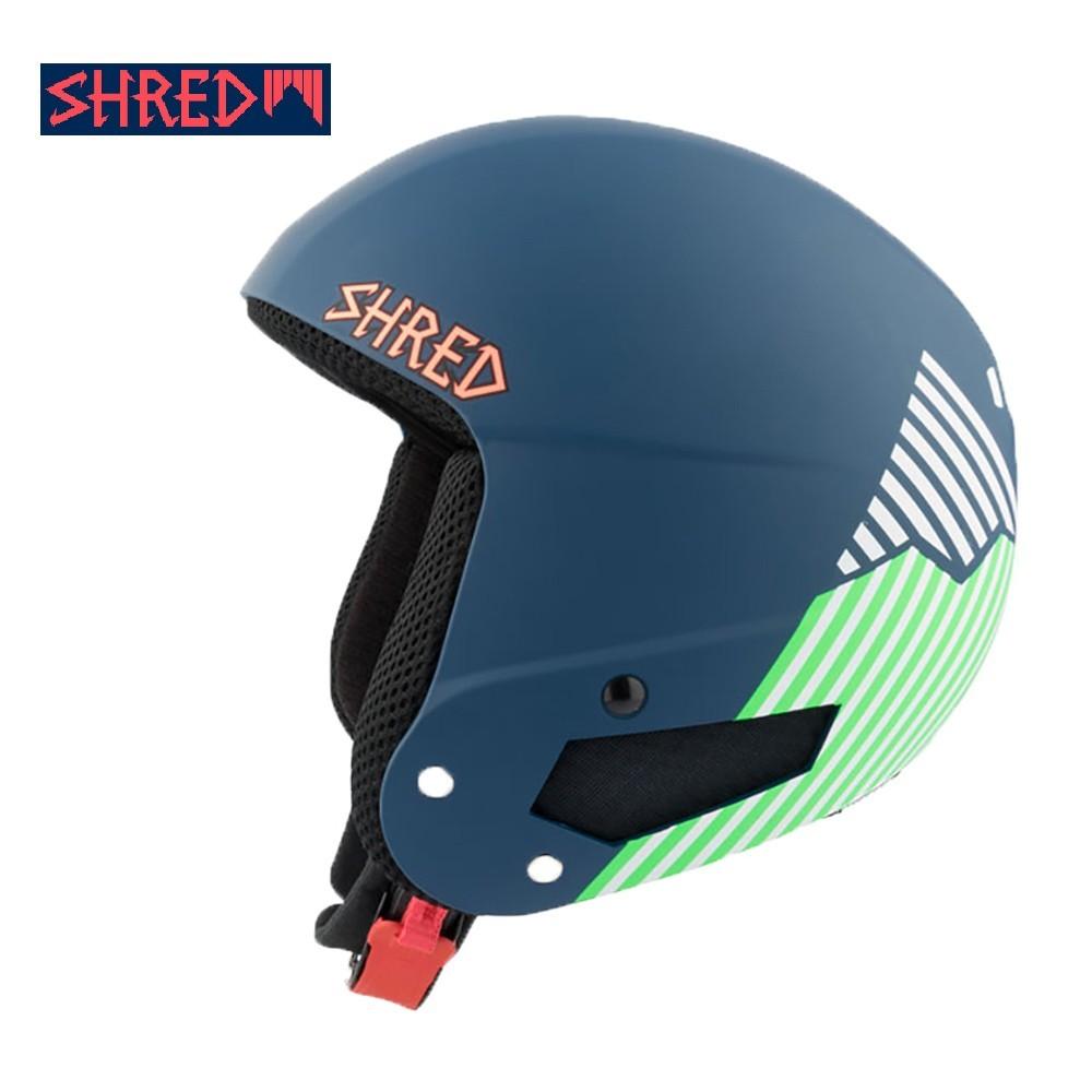 Casque de ski SHRED Brain Bucket Needmoresnow Bleu / Vert Junior