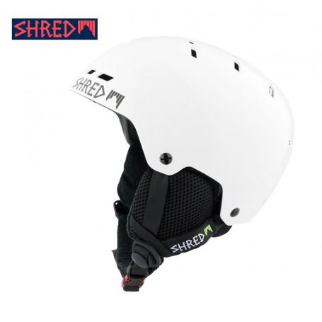 Casque de ski SHRED Bumper Whiteout Blanc Unisexe