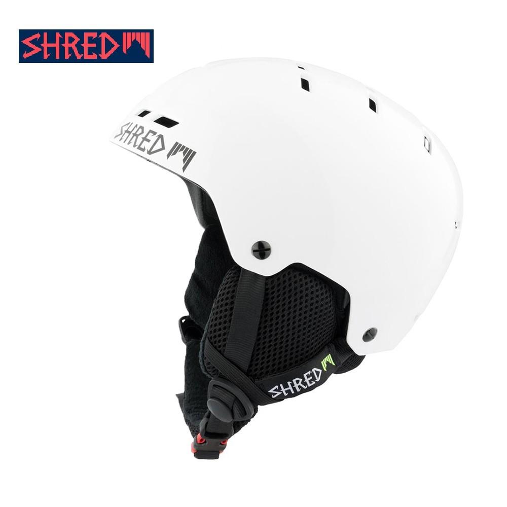 Casque de ski SHRED Bumper Whiteout Blanc Unisexe