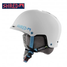 Casque de ski SHRED Half Brain Flurry Blanc Unisexe