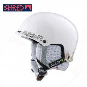 Casque de ski SHRED Half Brain Timber Blanc / Or Unisexe