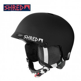 Casque de ski SHRED Half Brain Clarity Noir Unisexe