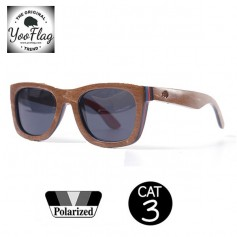 Lunettes de soleil YOOFLAG California Unisexe Cat. 3