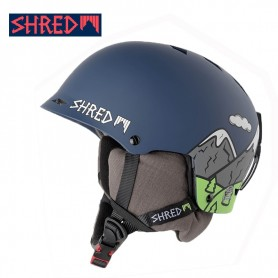 Casque de ski SHRED Half Brain D-LUX Needmoresnow Unisexe