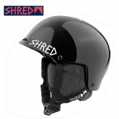 Casque de ski SHRED Half Brain D-LUX Blackout Noir Unisexe