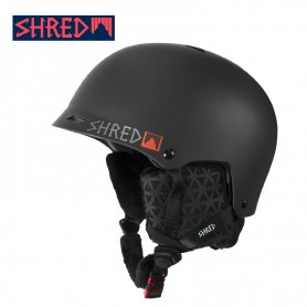 Casque de ski SHRED Half Brain D-LUX Credit Card Noir Unisexe