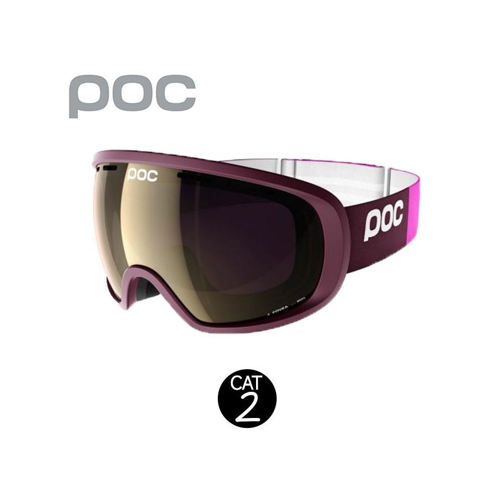 Masque de ski POC Fovea Prune Unisexe Cat.2