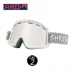 Masque de ski SHRED Monocle Norfolk Blanc Unisexe Cat.2