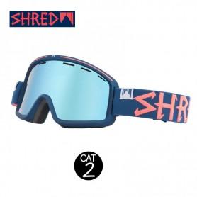 Masque de ski SHRED Monocle Grab Bleu nuit Unisexe Cat.2
