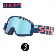 Masque de ski SHRED Monocle Grab Bleu nuit Unisexe Cat.2