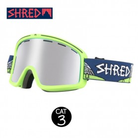 Masque de ski SHRED Monocle Needmoresnow Vert Unisexe Cat.3