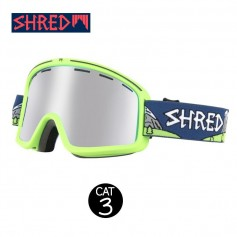 Masque de ski SHRED Monocle Needmoresnow Vert Unisexe Cat.3