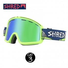 Masque de ski SHRED Monocle Needmoresnow Vert Unisexe CBL Cat.3