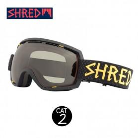 Masque de ski SHRED Stupefy Walnuts Noir Unisexe CBL Cat.2