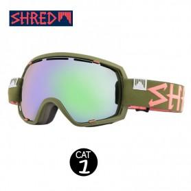Masque de ski SHRED Stupefy Trooper Kaki Unisexe Cat.1