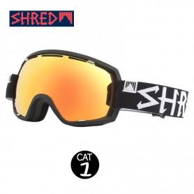 Masque de ski SHRED Stupefy Blackout Noir Unisexe Cat.1