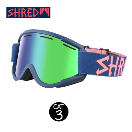 Masque de ski SHRED Nastify Grab Bleu Unisexe CBL Cat.3