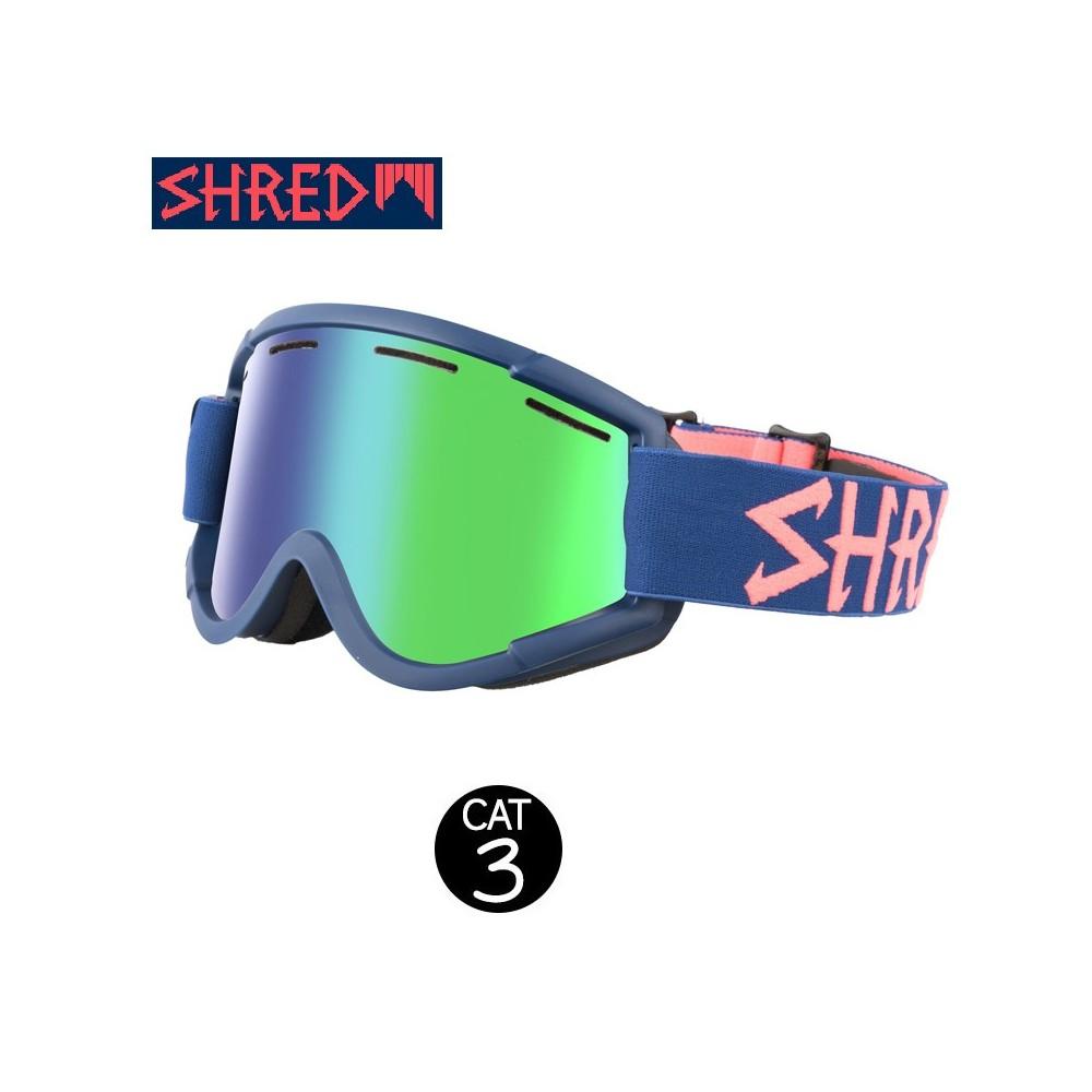Masque de ski SHRED Nastify Grab Bleu Unisexe CBL Cat.3