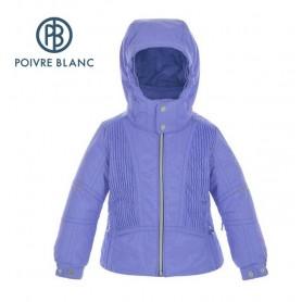 Veste de ski POIVRE BLANC BBGL Ski Jacket Violet BB Fille