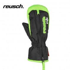 Moufles de ski REUSCH Benni Noir / Vert Bébé