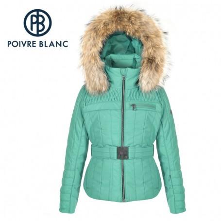 Blouson de ski POIVRE BLANC JRGL/B Ski Jacket Vert Fille