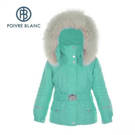Veste de ski POIVRE BLANC BBGL/A Ski Jacket Vert BB Fille