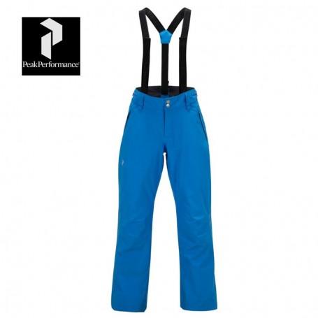 Pantalon de ski PEAK PERFORMANCE Anima Cyan Femme