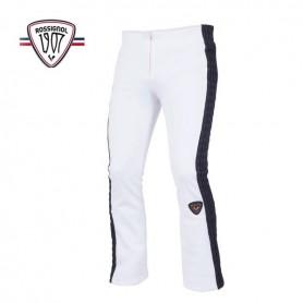 Pantalon de ski stretch ROSSIGNOL 1907 Abyss Blanc Femme