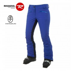 Pantalon de ski ROSSIGNOL JCC Super 8 Bleu Femme