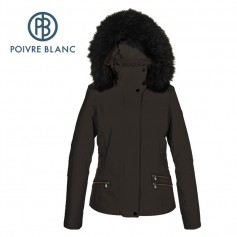 Veste de ski POIVRE BLANC WO/B Ski Stretch Jacket Marron Femme