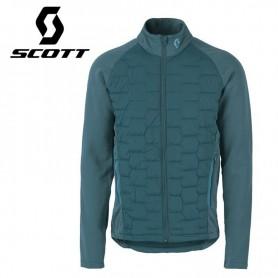 Veste Scott Insuloft Explorair Hybrid bleu canard Homme